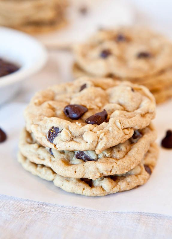 Cook'S Illustrated Chocolate Chip Cookies  Chocolate Chip Peanut Butter Oatmeal Cookies – Inspired be