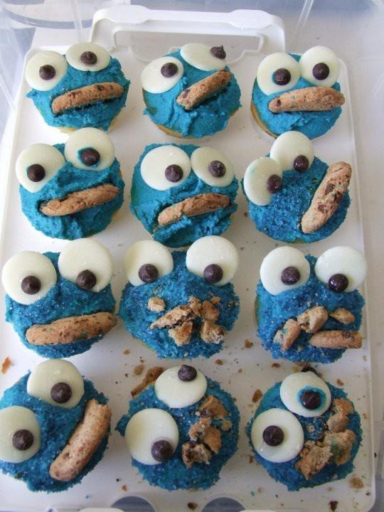 Cookie Monster Cupcakes  Fun Cookie Monster Cupcake Recipe With Our Best Denver
