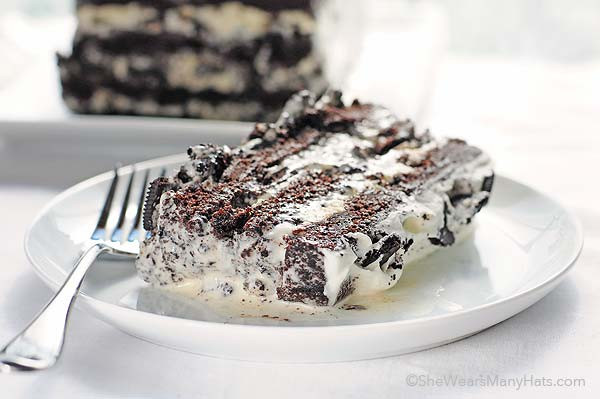 Cookies And Cream Ice Cream Recipe  Cookies and Cream Ice Cream Cake
