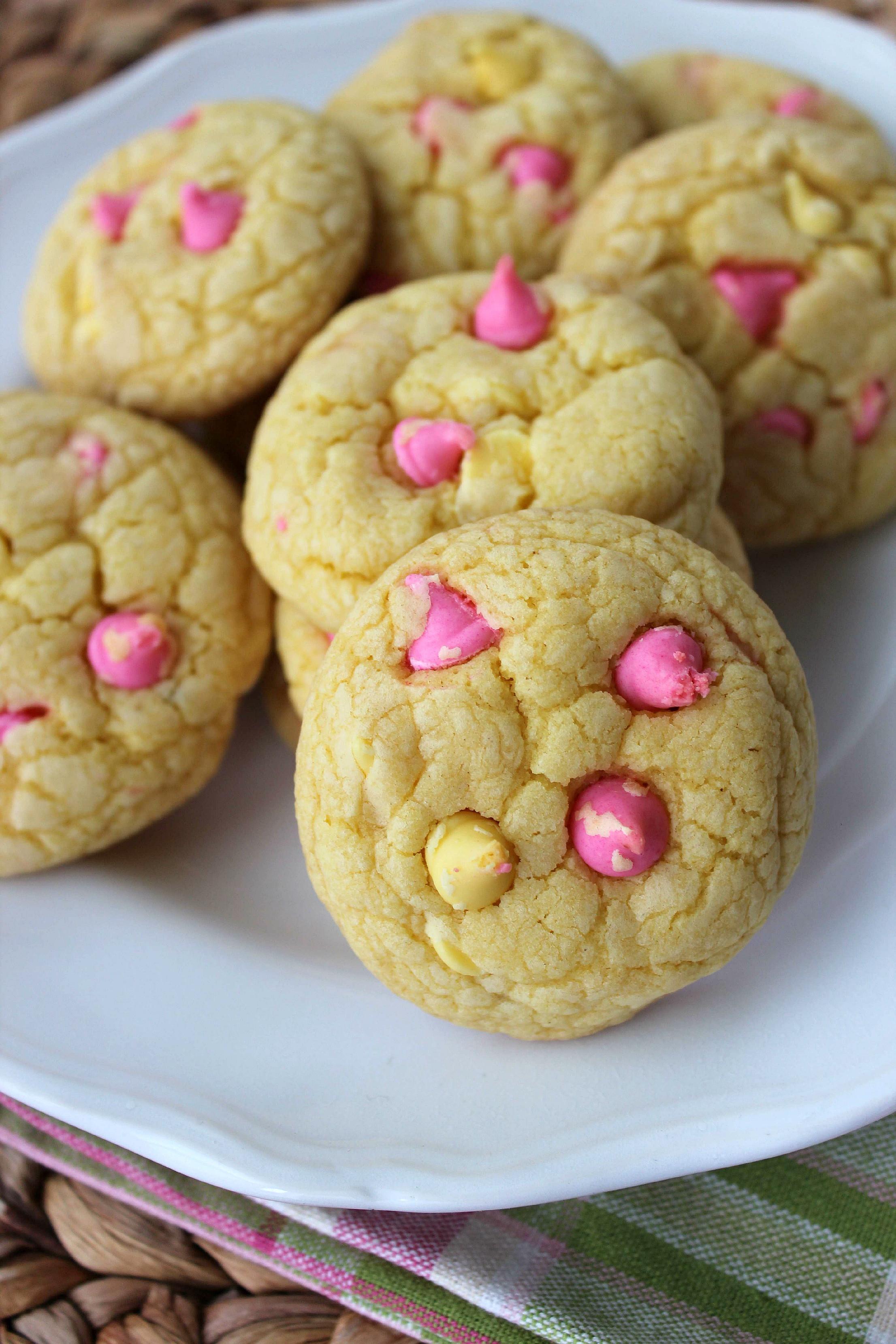 Cookies From Cake Mix  Lemon Cake Mix Cookies