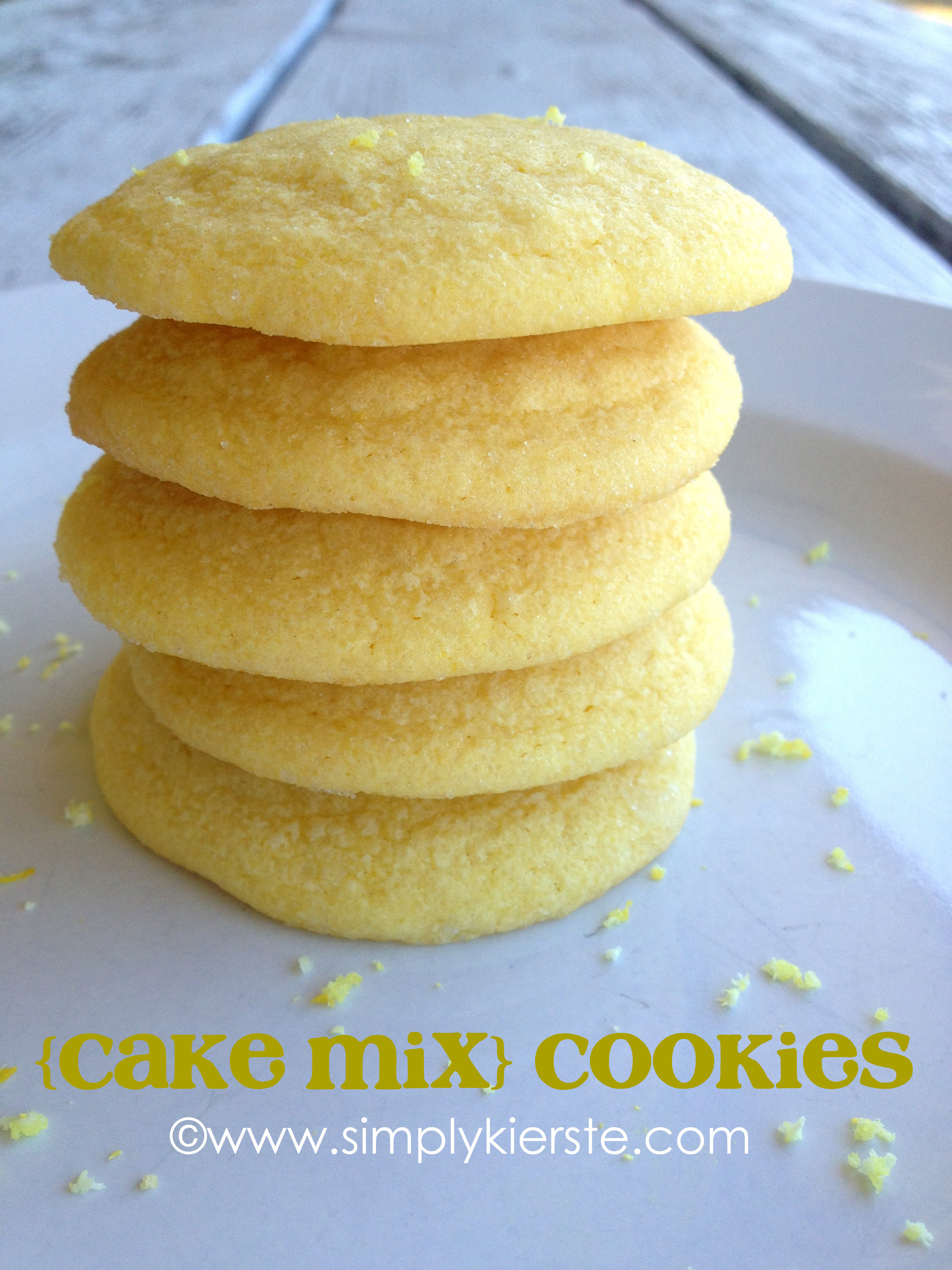 Cookies From Cake Mix  Cake Mix Cookies