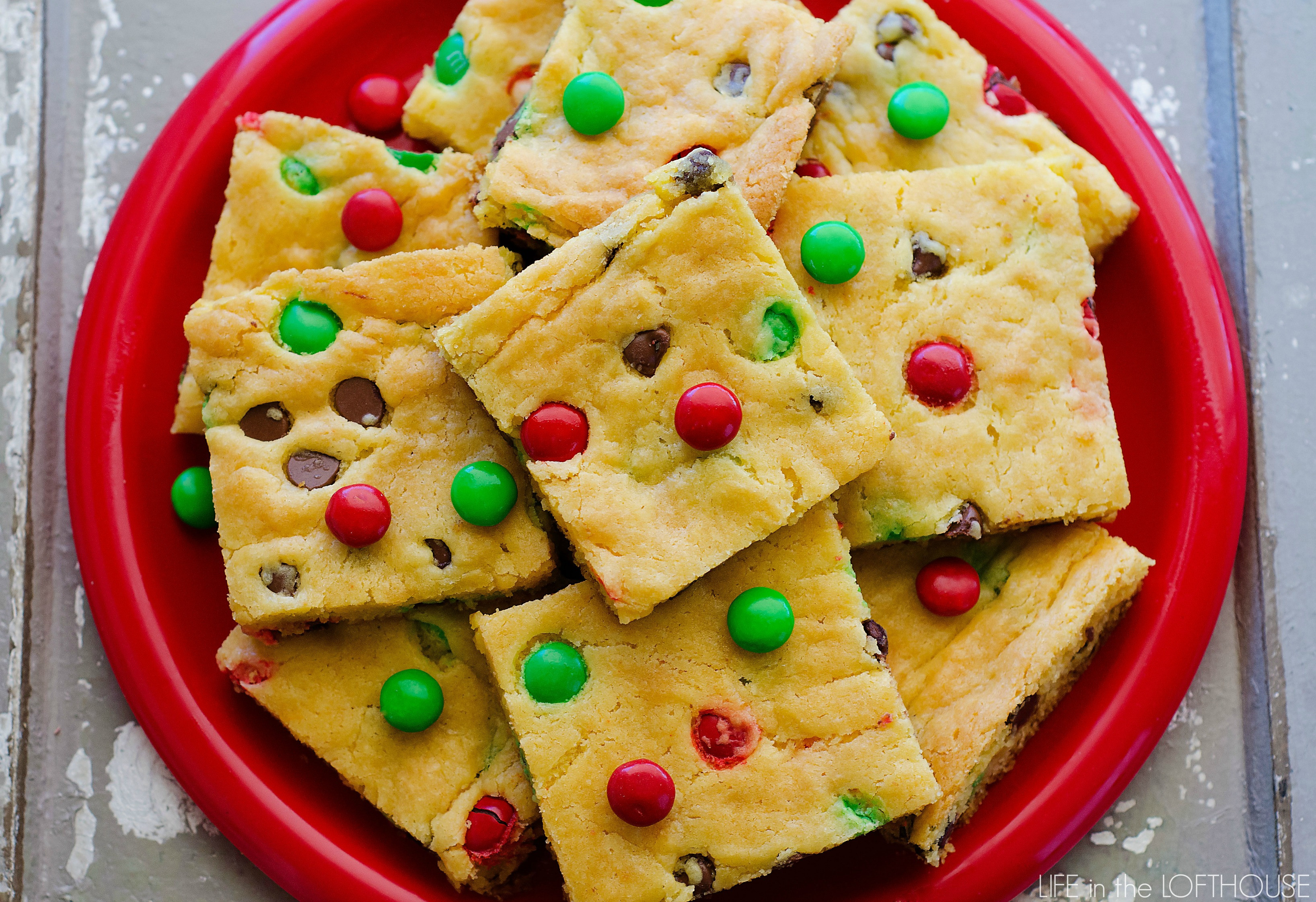 Cookies From Cake Mix  Cake Mix Cookie Bars Life In The Lofthouse