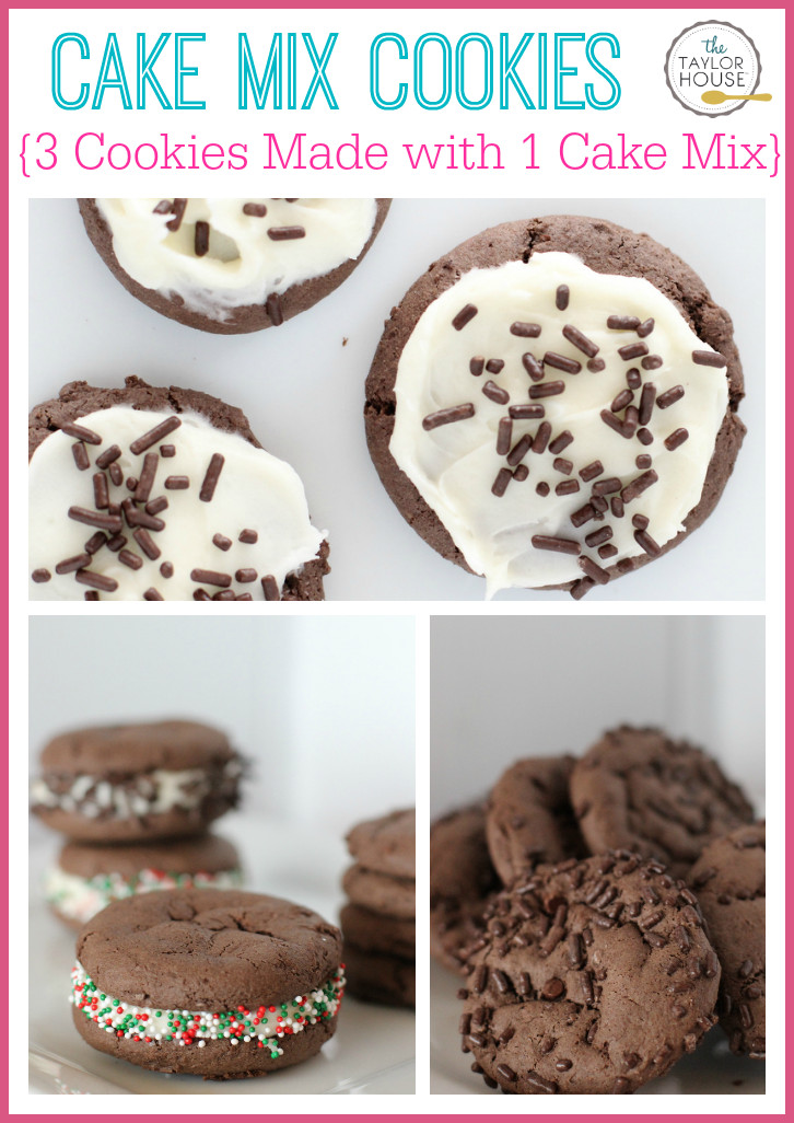 Cookies Made With Cake Mix  Chocolate Cake Mix Cookies 3 Ways Page 2 of 2