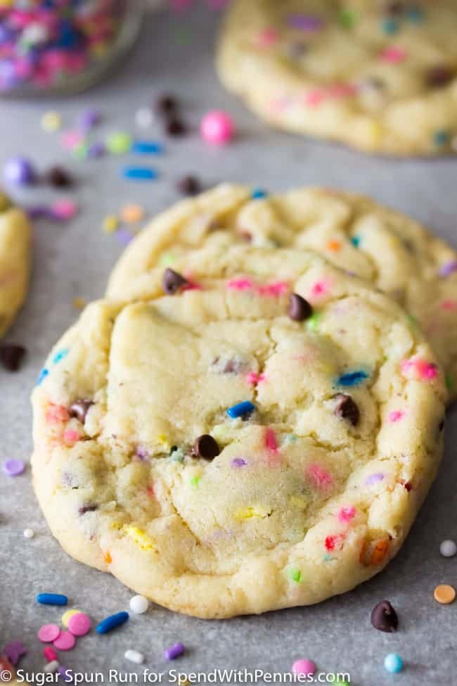 Cookies Made With Cake Mix  Cake Mix Cookies Made with Yellow Cake Mix Spend with