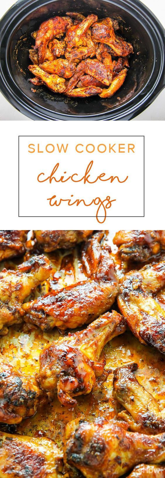 Cooking Chicken Wings  How to Cook Chicken Wings in a Slow Cooker