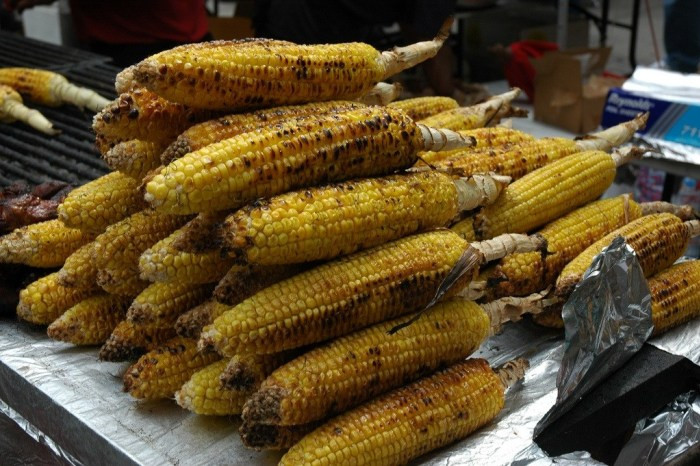 Cooking Corn On The Cob On The Grill  Best Basic Grilled Corn on the Cob Recipe Food Republic
