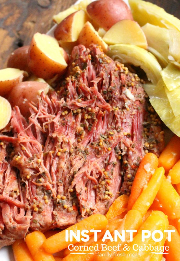 Cooking Corned Beef And Cabbage  Instant Pot Corned Beef and Cabbage Family Fresh Meals