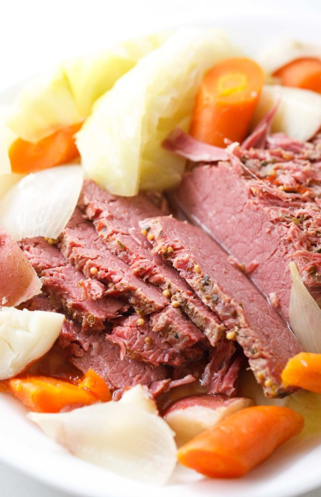 Cooking Corned Beef And Cabbage  Instant Pot Corned Beef and Cabbage Pressure Cooker