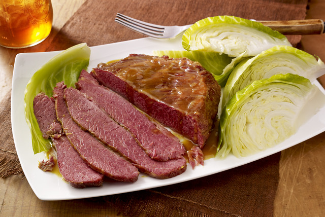 Cooking Corned Beef Brisket  Corned Beef Brisket with Cabbage Kraft Recipes