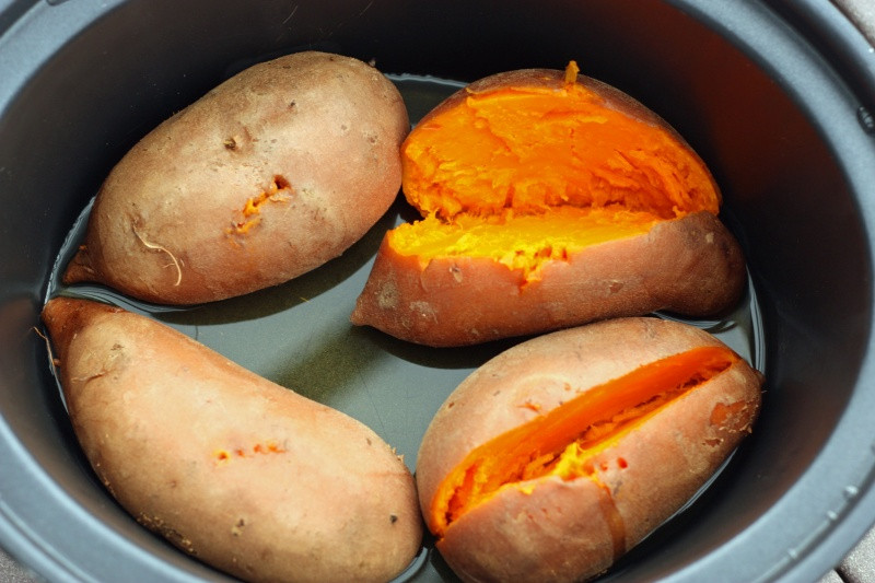 Cooking Sweet Potato  20 Wholefood Slow Cooker Recipes Natural New Age Mum