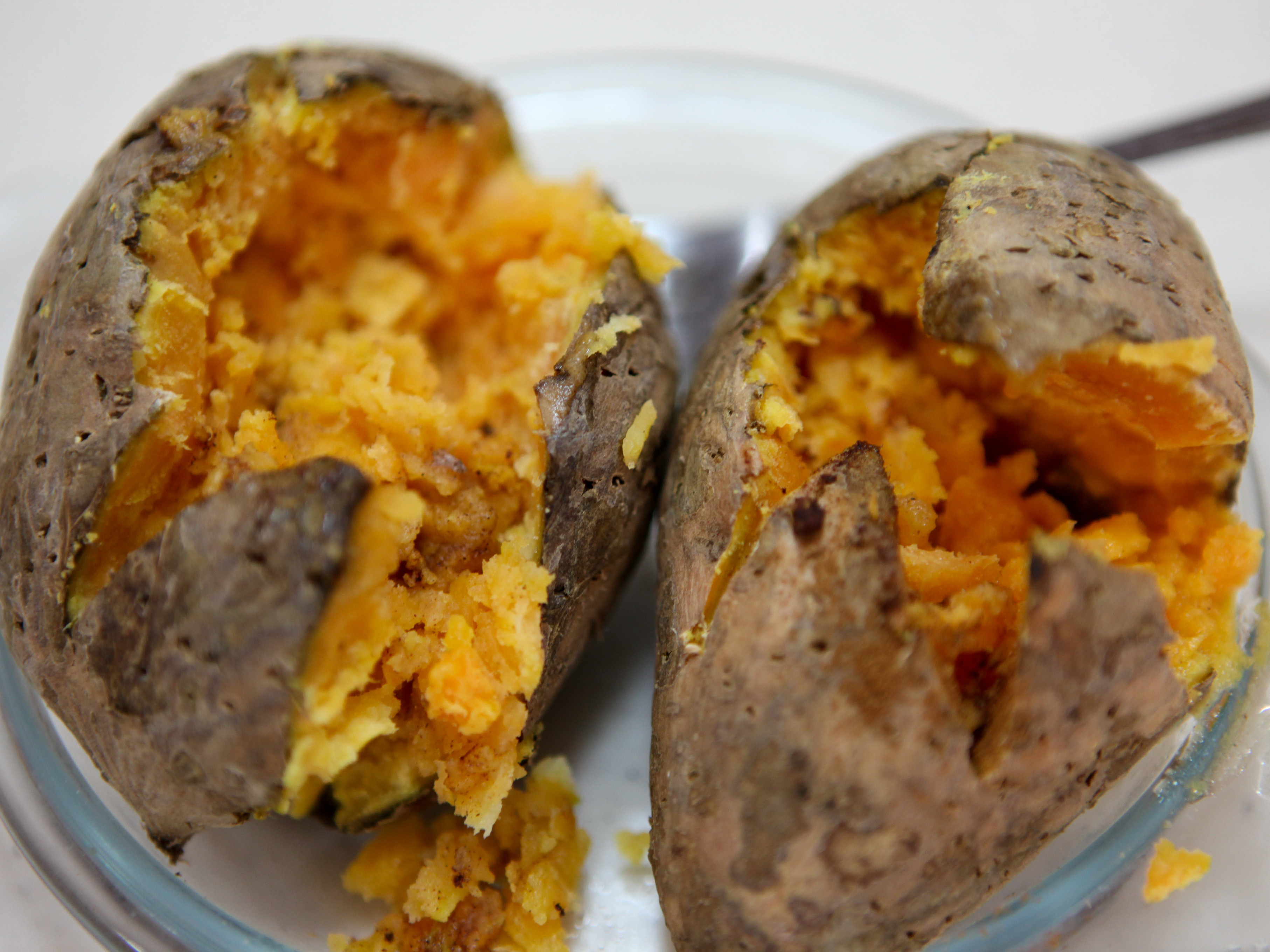 Cooking Sweet Potato  How to Cook a Sweet Potato in the Microwave 11 Steps