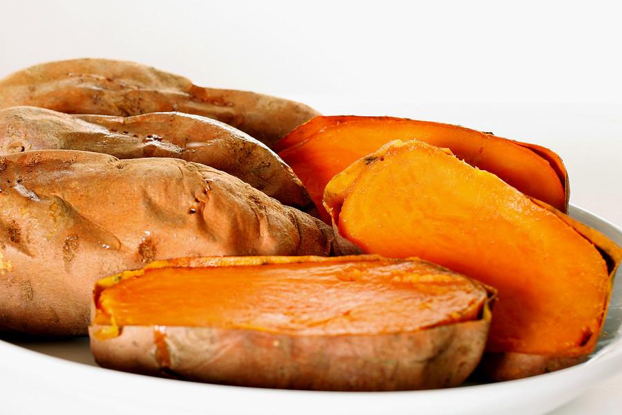 Cooking Sweet Potato  Sweet Potatoes Batch Cooking Saves Time