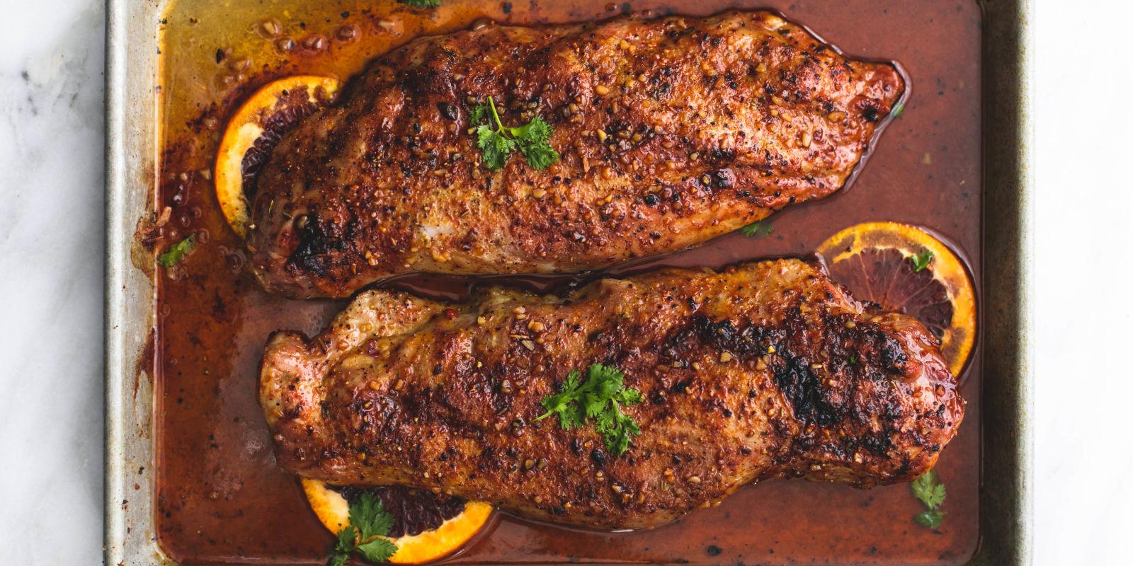 Cooking Time For Pork Loin  Best Glazed Pork Tenderloin Recipe How To Cook Pork