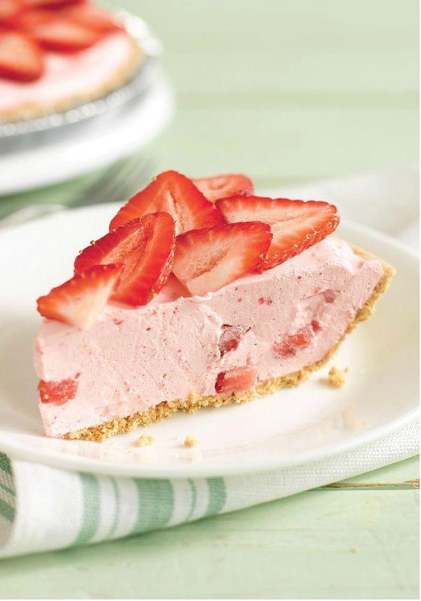 Cool Whip Desserts With Jello  25 bästa Strawberry pie recipes idéerna på Pinterest