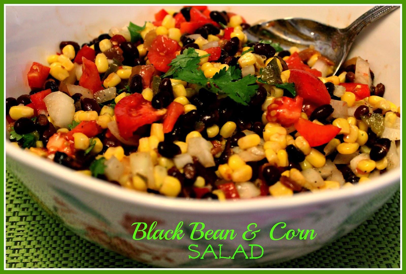 Corn And Black Bean Salad  Sweet Tea and Cornbread Black Bean and Corn Salad