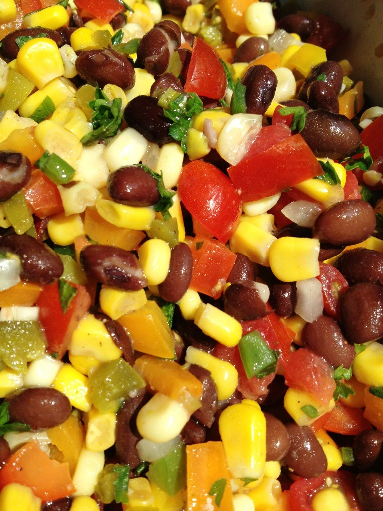 Corn And Black Bean Salad  A Healthy Makeover Corn and Black Bean Salad