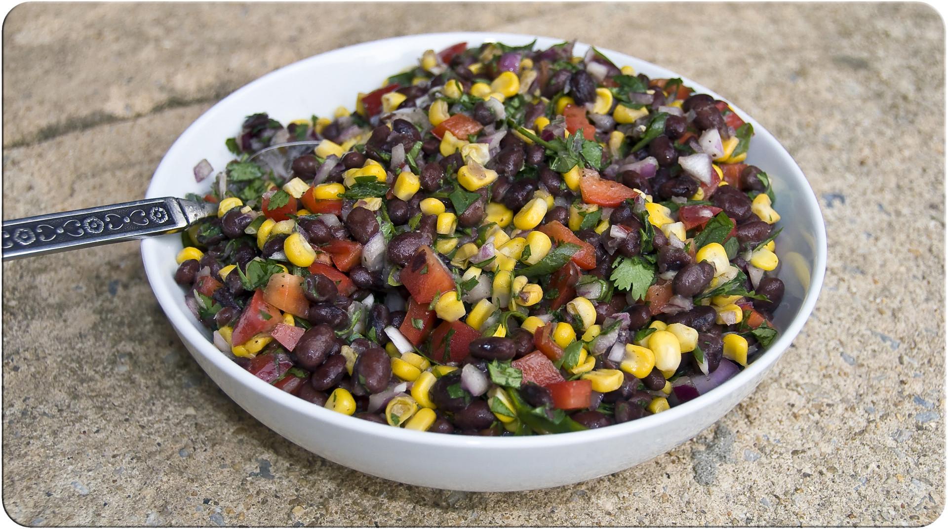 Corn And Black Bean Salad  Corn and Black Bean Salad