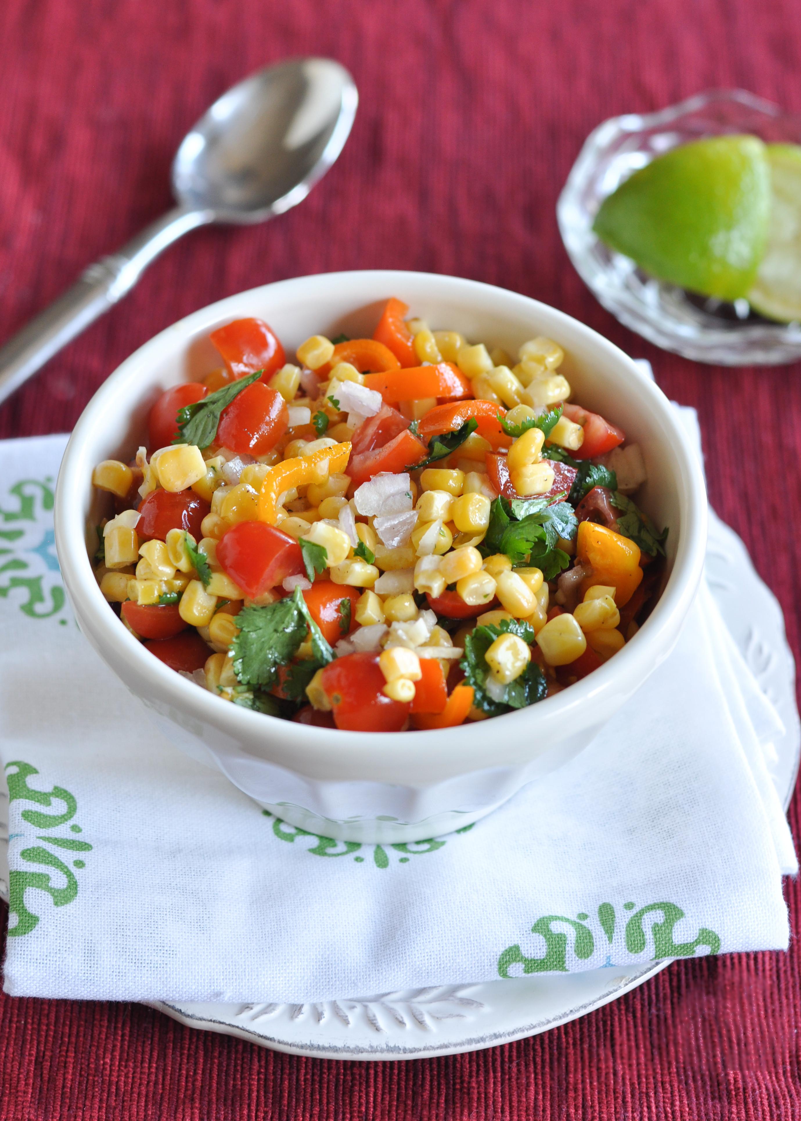 Corn And Tomato Salad  Corn and Tomato Salad