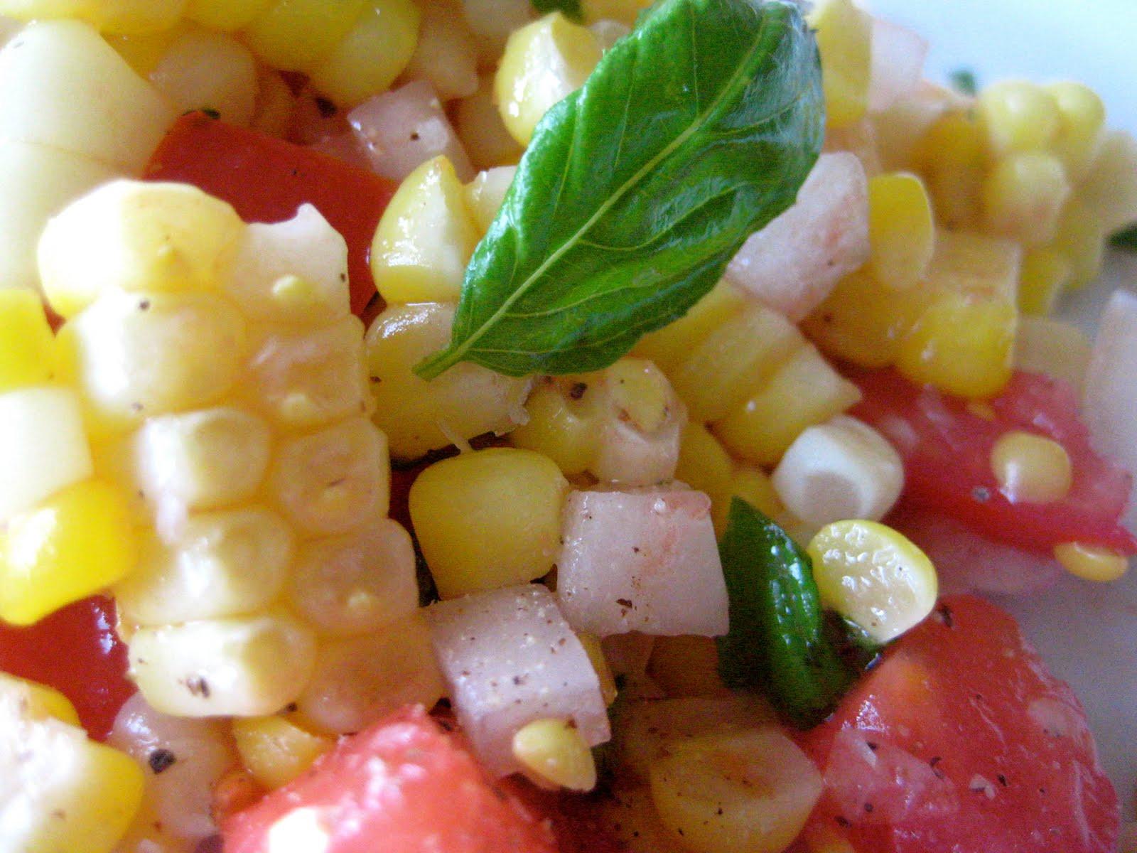 Corn And Tomato Salad  Fresh Corn and Tomato Salad