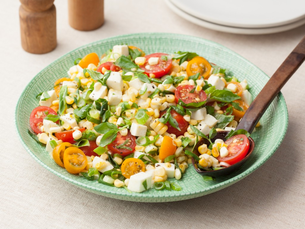 Corn And Tomato Salad  Exclusive List of Ve able Salads Munch with an Indian