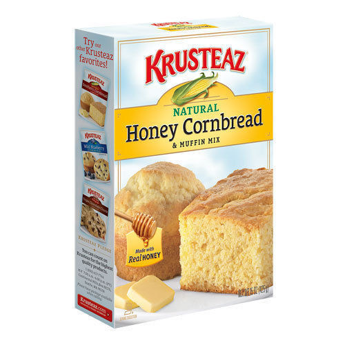 Corn Bread Mix  Krusteaz Honey Cornbread & Muffin Mix