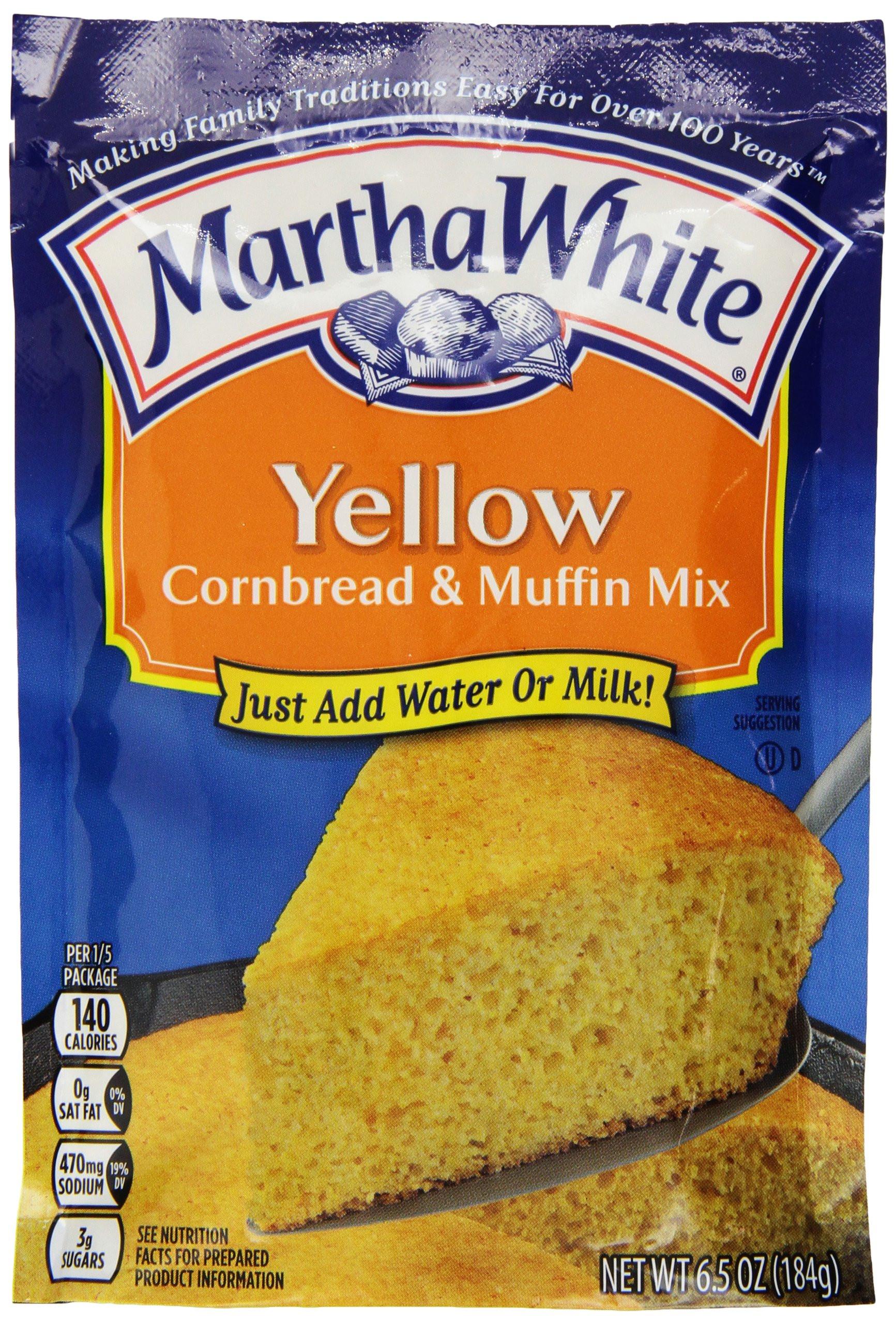 Corn Bread Mix  Amazon Martha White Cotton Country Buttermilk