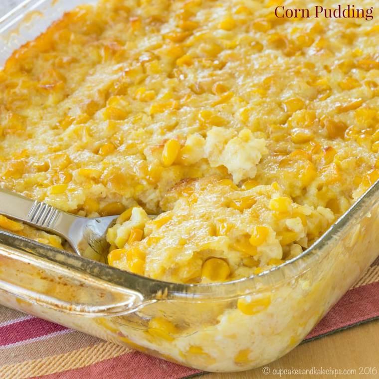 Corn Bread Pudding  Corn Pudding Recipe — Dishmaps