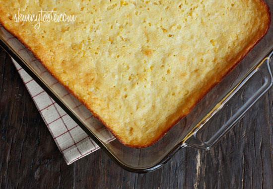 Corn Bread Pudding  Make Over Corn Casserole