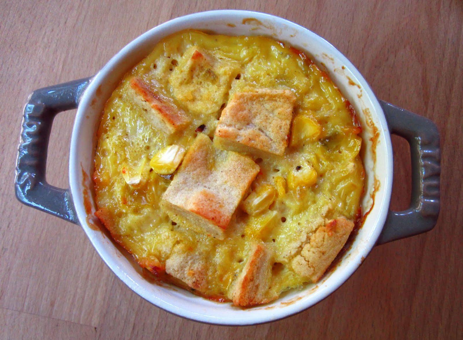 Corn Bread Pudding  Sweet Cornbread Pudding Casserole
