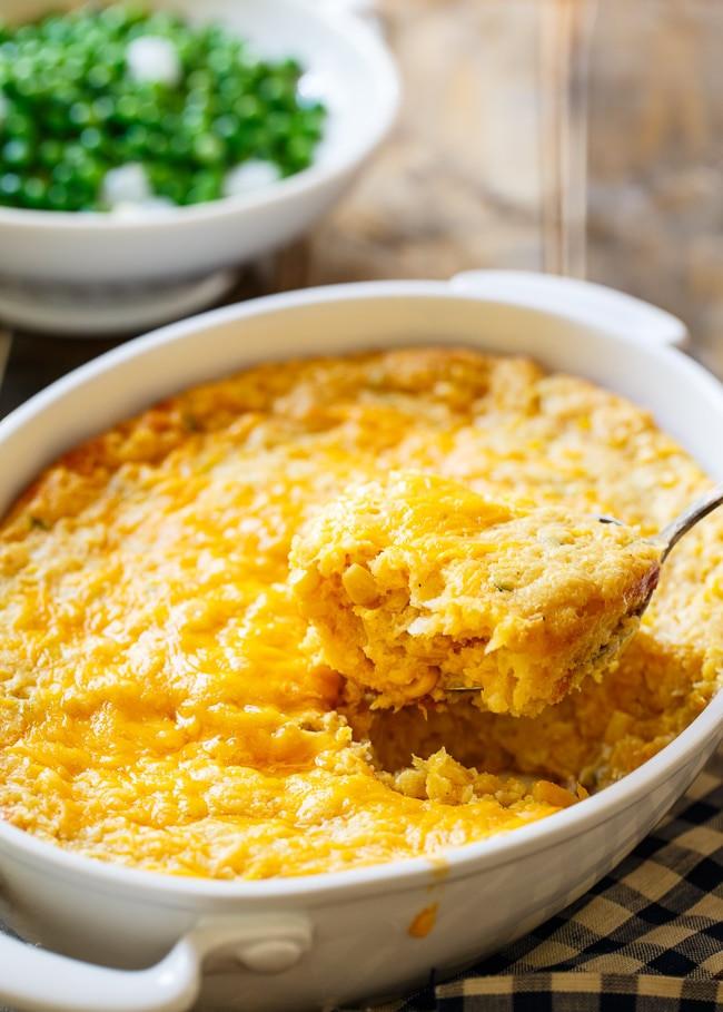 Corn Casserole Jiffy  jalapeno corn casserole jiffy