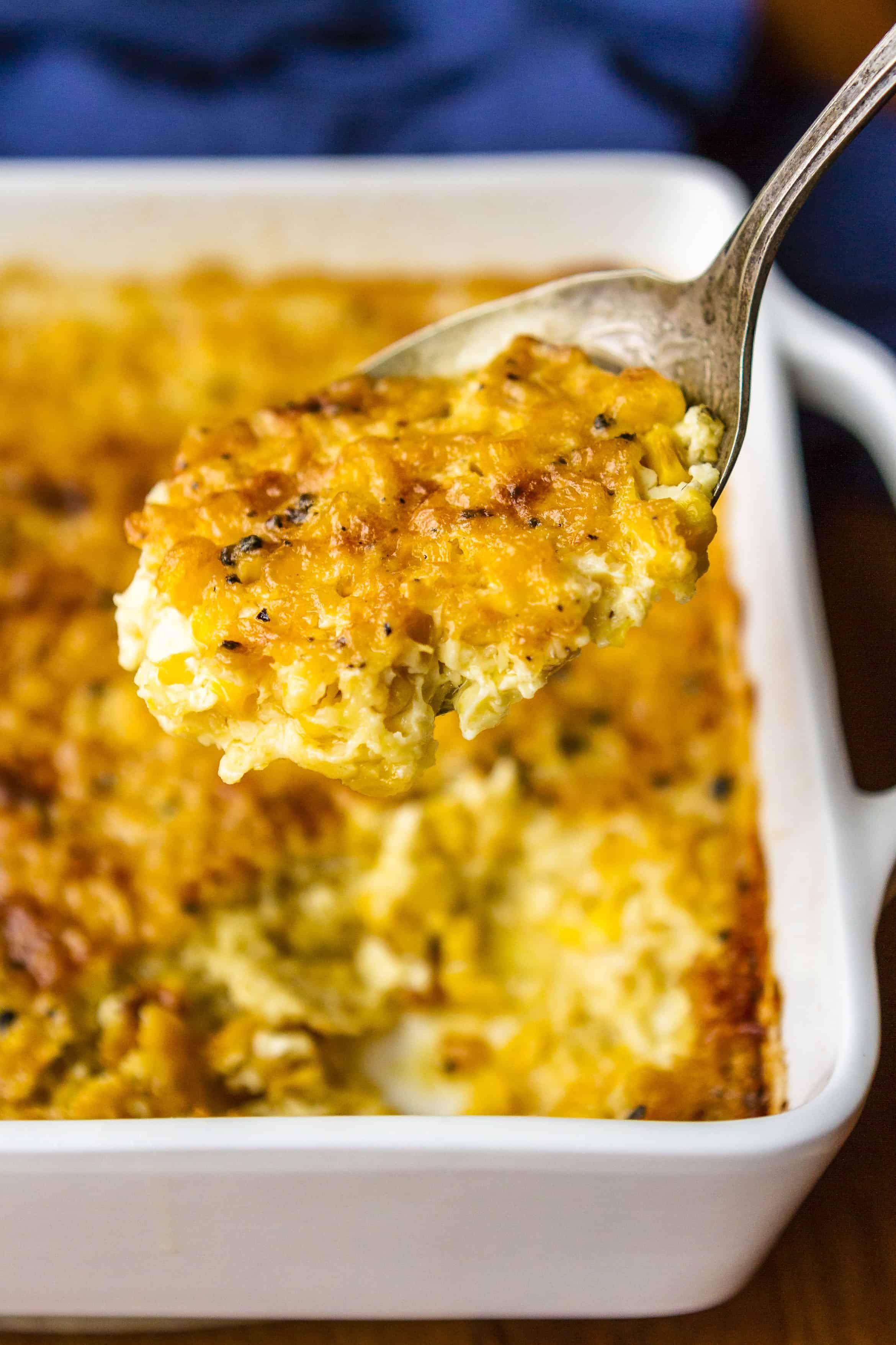 Corn Casserole Recipes  corn casserole without sour cream