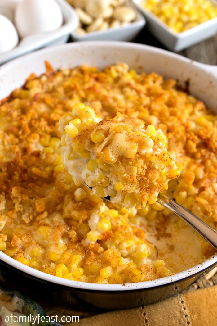 Corn Casserole Recipes  Nantucket Corn Pudding A Family Feast