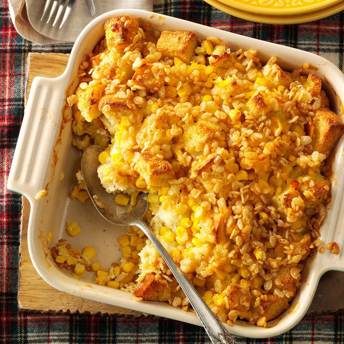 Corn Casserole Recipes  Scalloped Sweet Corn Casserole Recipe