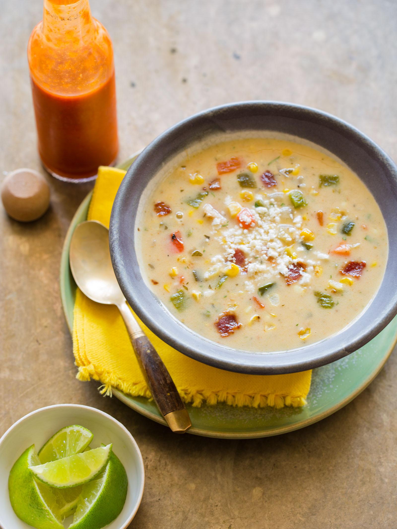 Corn Chowder Soup Recipe  recipe for corn chowder soup