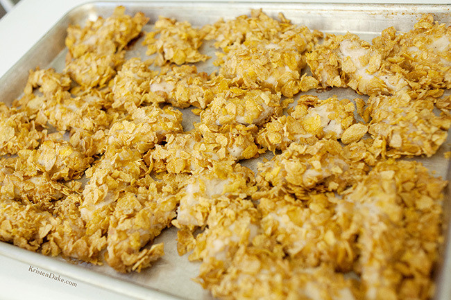 Corn Flakes Chicken  Baked Corn Flake Chicken