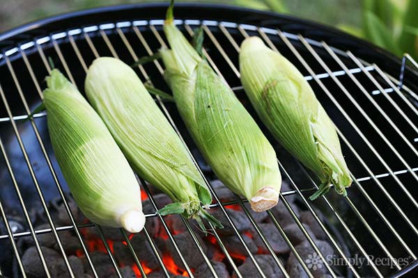 Corn In Husk On Grill  How to Grill Corn on the Cob