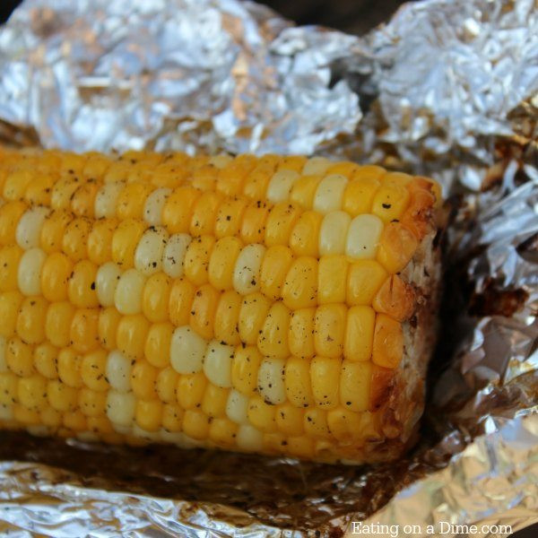 Corn On Cob On Grill  How to Grill Corn on the Cob Eating on a Dime