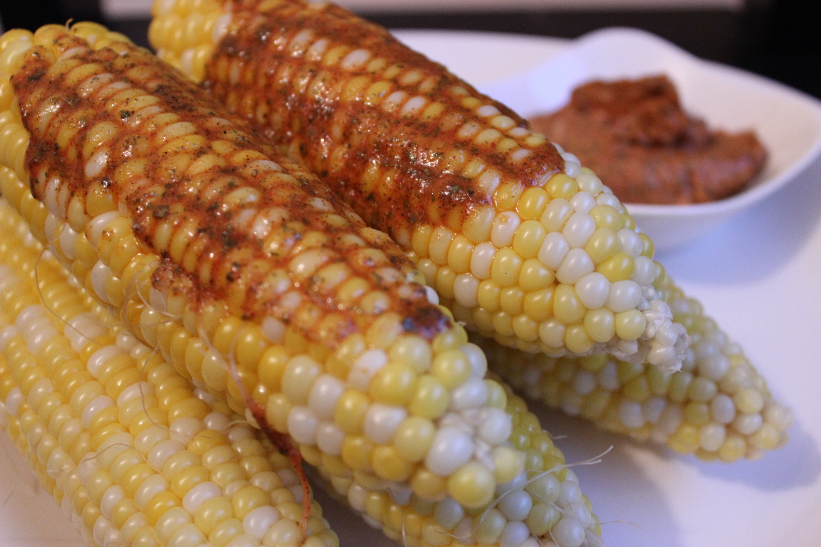 Corn On Cob On Grill  Grilled Corn on the Cob with Smoky Cajun Butter These