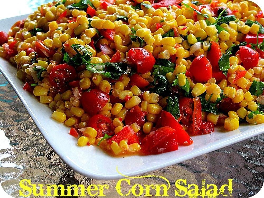 Corn Salad Recipes  Summer Cooking — The Most Delicious Corn Salad Recipe