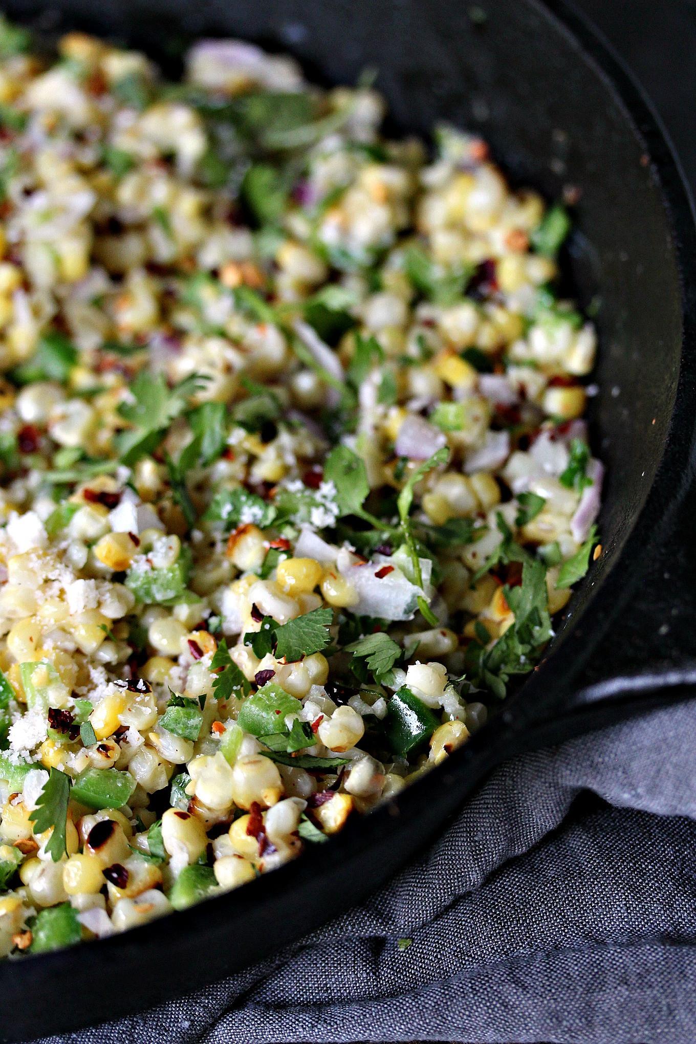 Corn Salad Recipes  Mexican Street Corn Salad aka Esquites