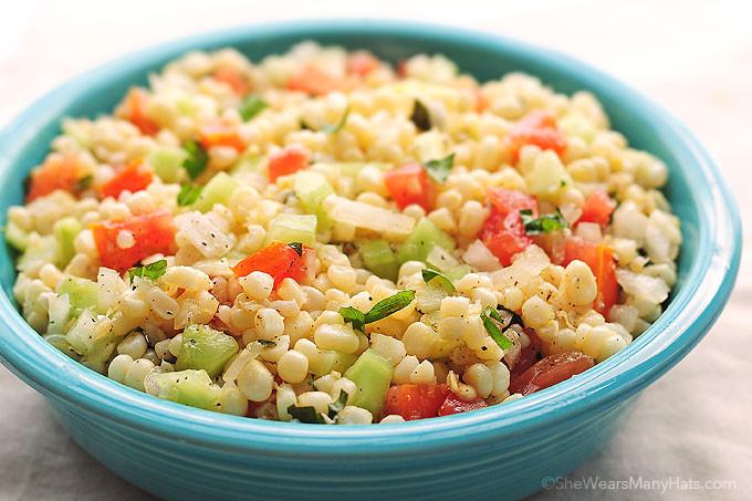 Corn Salad Recipes  Fresh Corn Salad Recipe