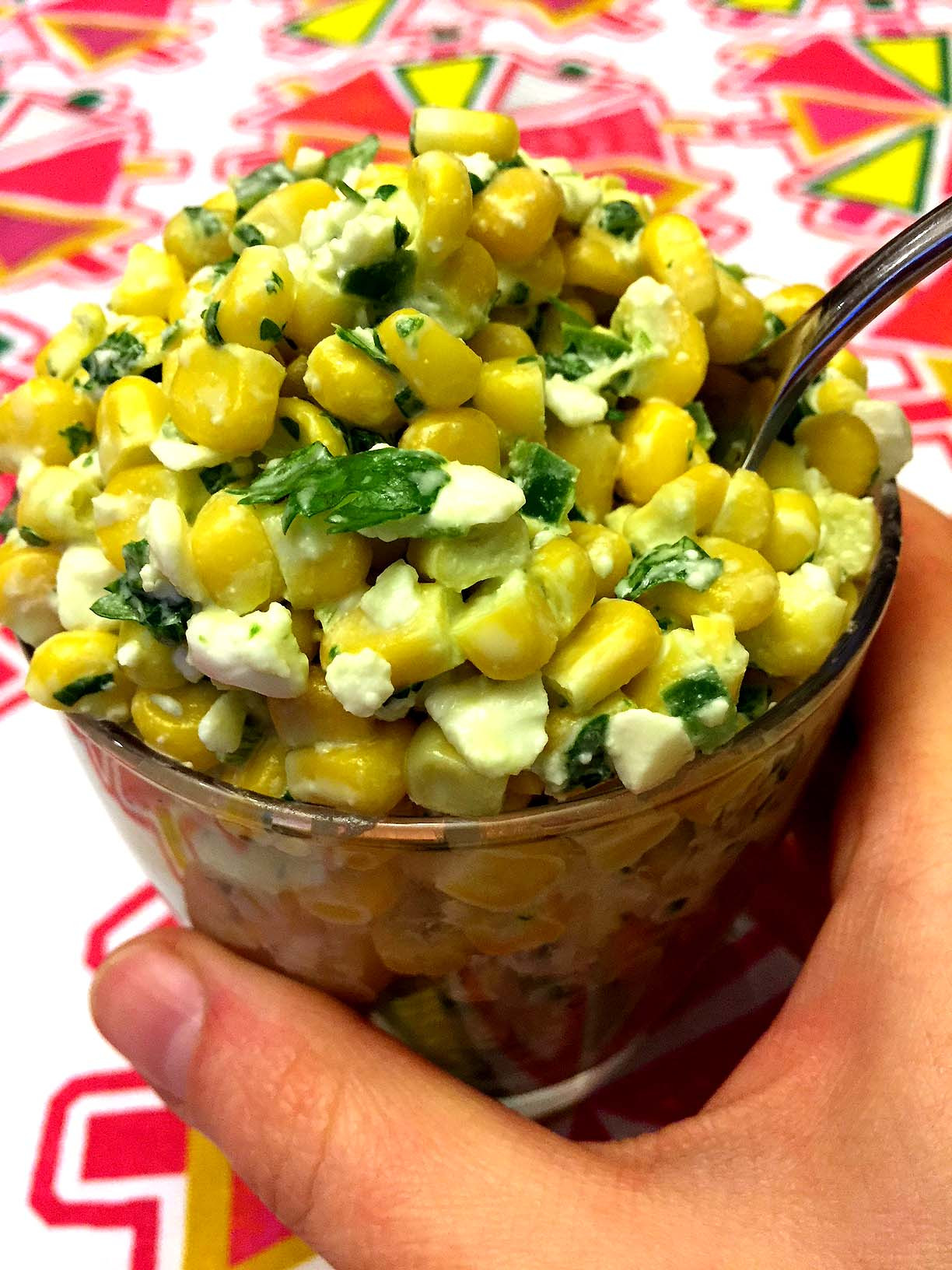 Corn Salad Recipes  Mexican Street Corn Salad Recipe – Melanie Cooks