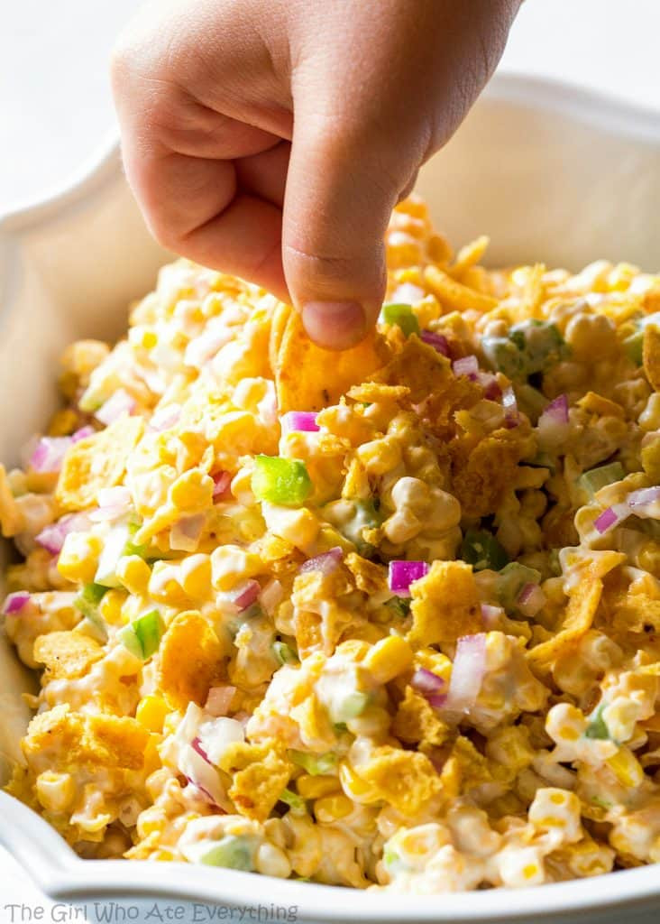Corn Salad With Fritos  Frito Corn Salad The Girl Who Ate Everything