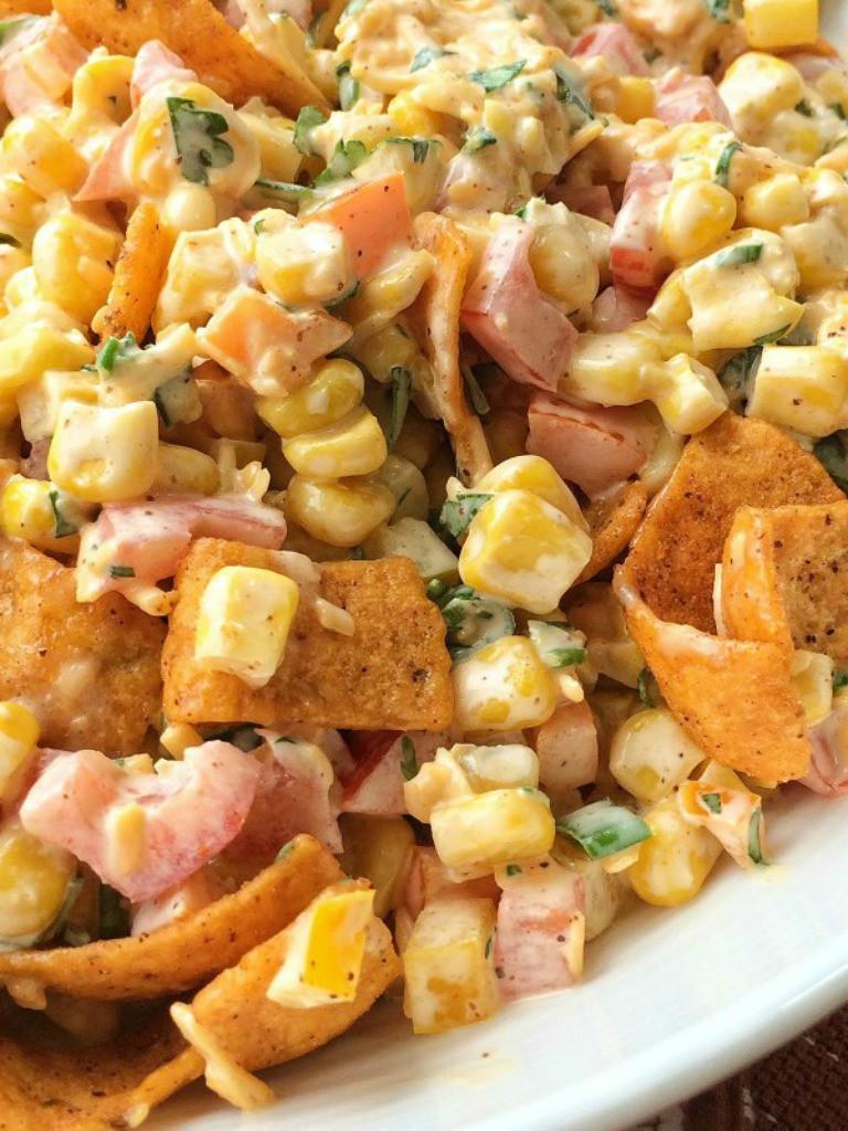 Corn Salad With Fritos  Fritos Corn Salad To her as Family