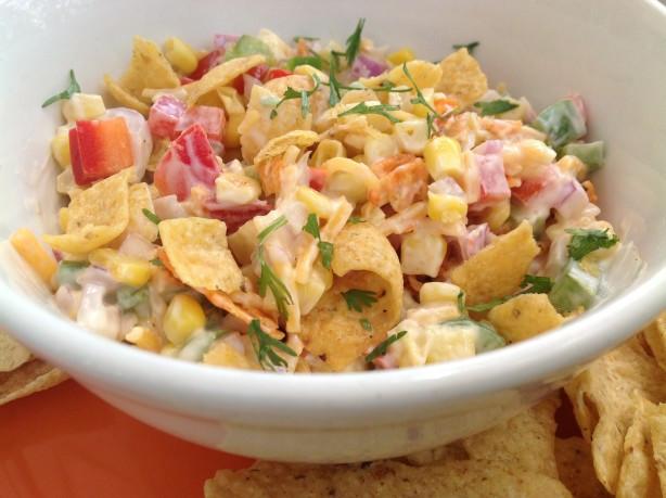 Corn Salad With Fritos  Frito Corn Salad Recipe Food