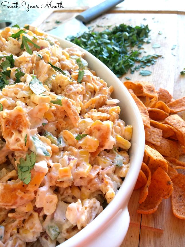 Corn Salad With Fritos  South Your Mouth Frito Corn Salad