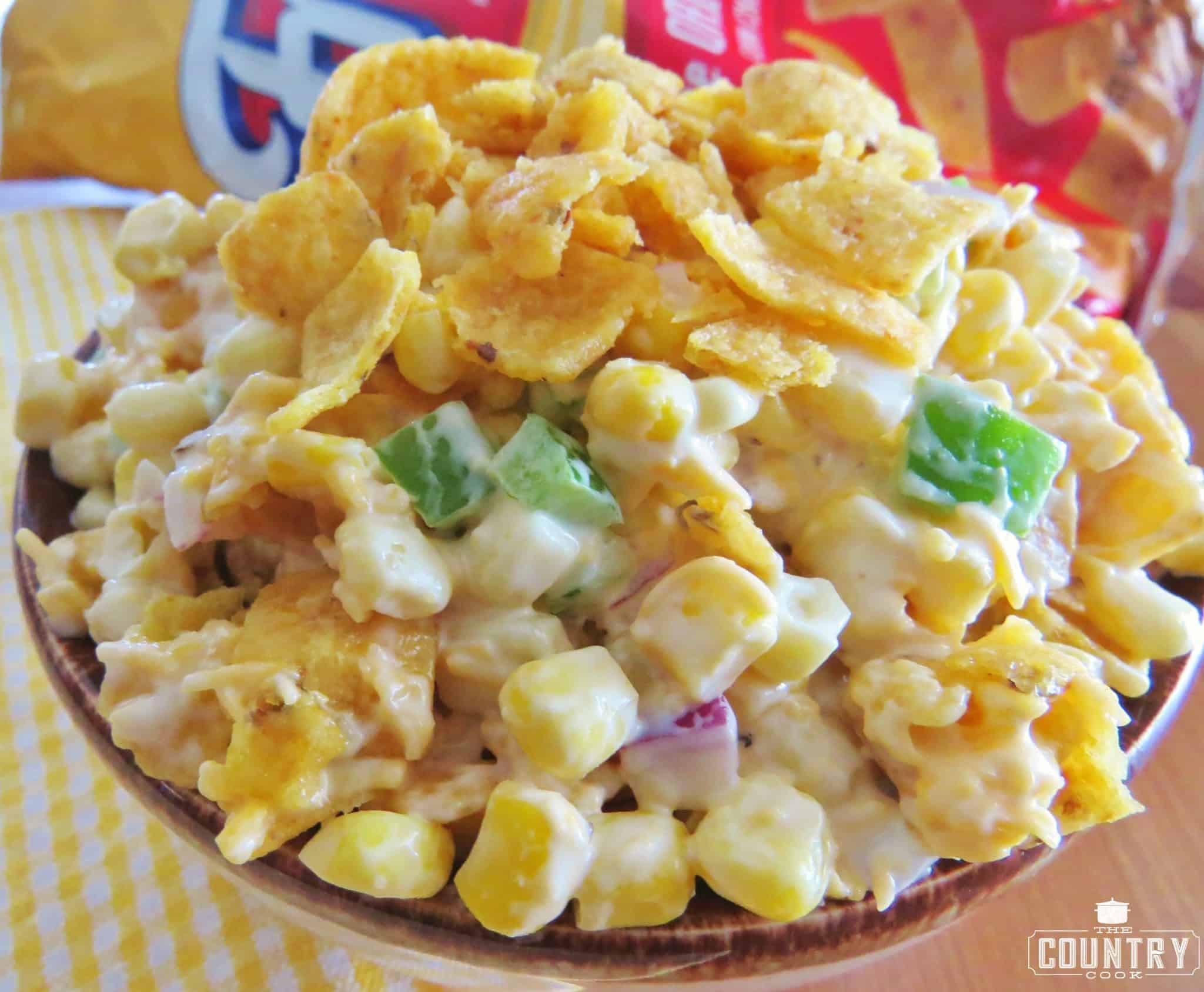 Corn Salad With Fritos  Frito Corn Salad The Country Cook
