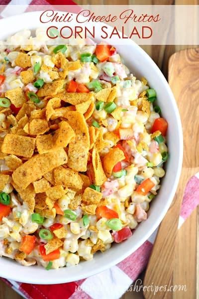Corn Salad With Fritos  Chili Cheese Fritos Corn Salad