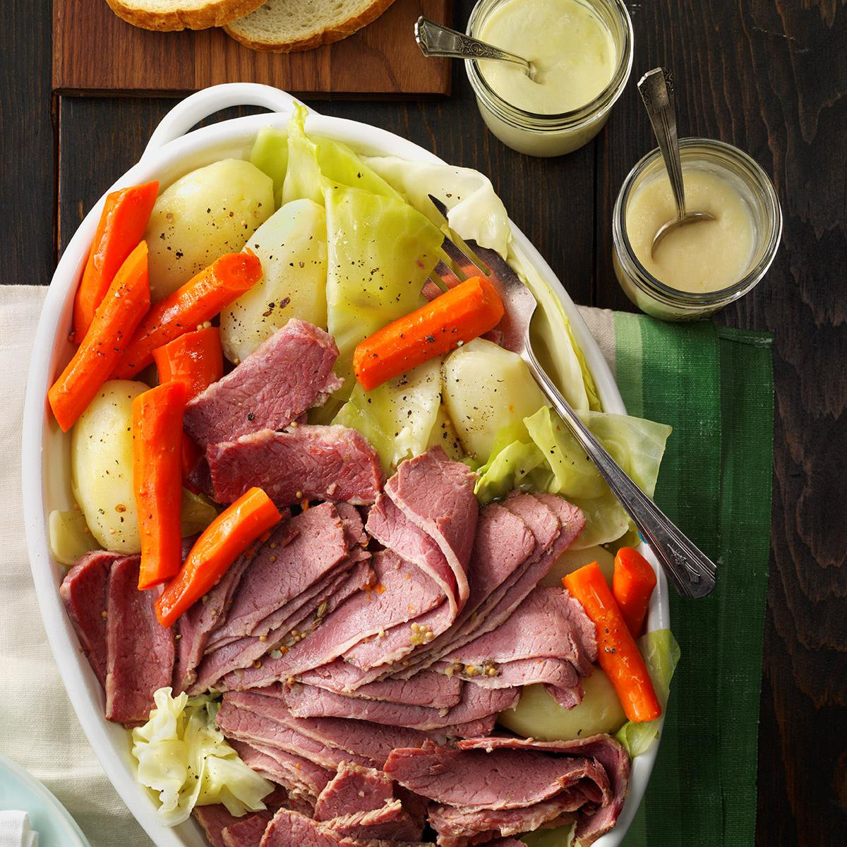 Cornbeef And Cabbage Recipe  Favorite Corned Beef and Cabbage Recipe