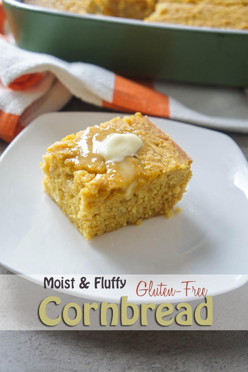 Cornbread Gluten Free  Moist & Fluffy Gluten Free Cornbread Vitamin Sunshine